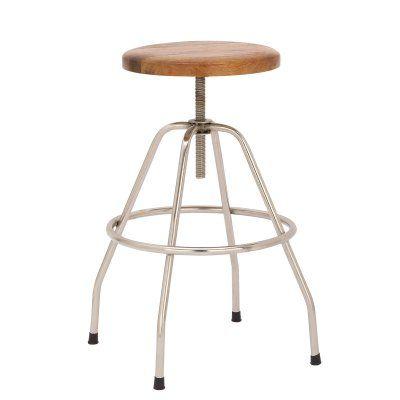Magnificent Uma Enterprises Wood Metal 28 In Adjustable Backless Gamerscity Chair Design For Home Gamerscityorg