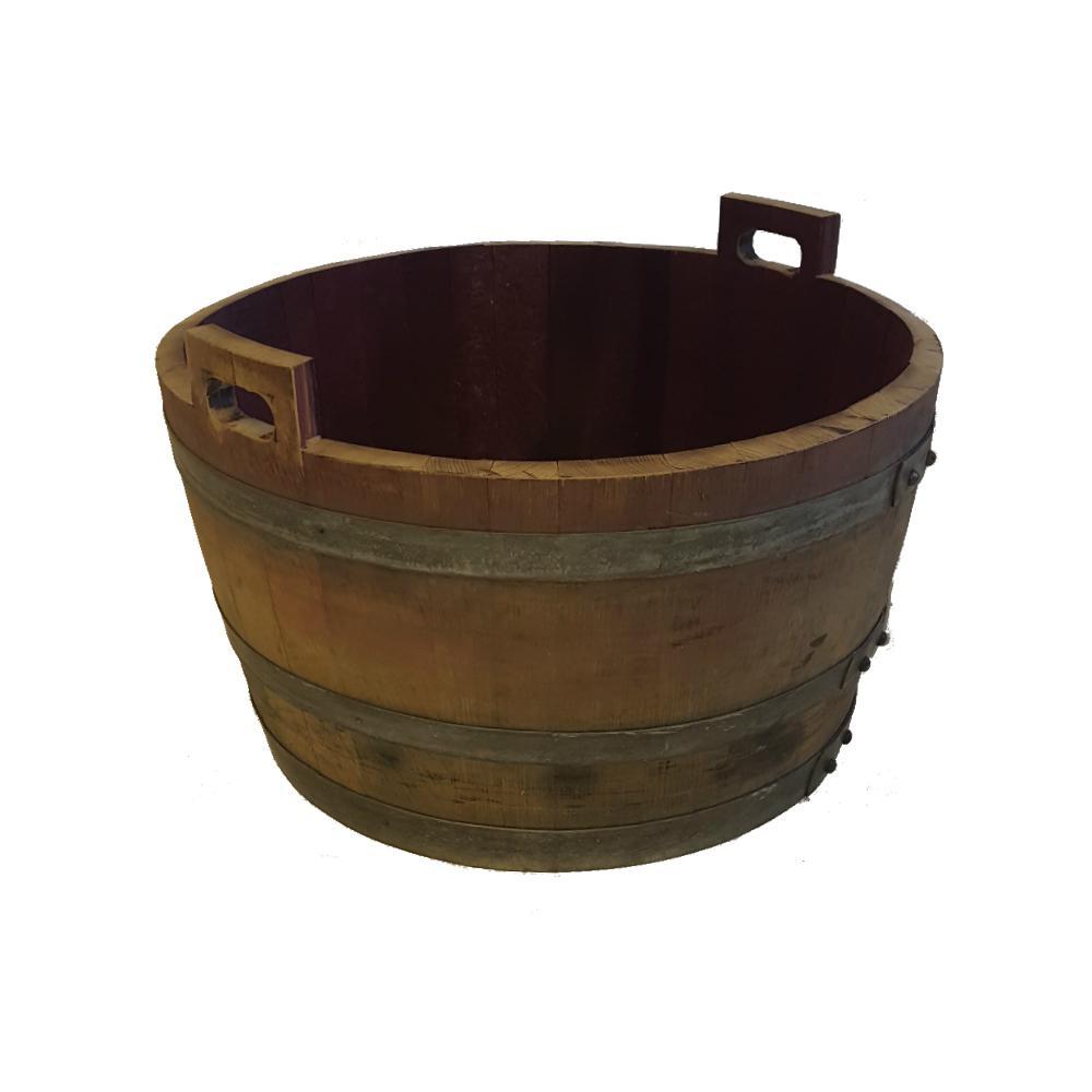 Mgp 26 In W 17 In H Oak Bucket Natural In 2019 Products Oak Lumber Bucket French Oak
