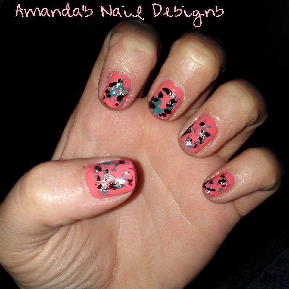 Amandas Nail Designs Nails Pinterest Makeup