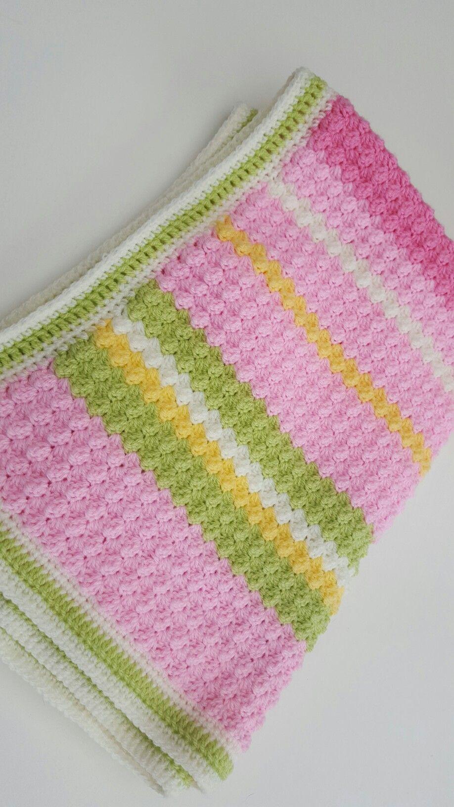 Chunky Bumpy Baby Blanket Pattern By Deborah Oleary Blanket Dk