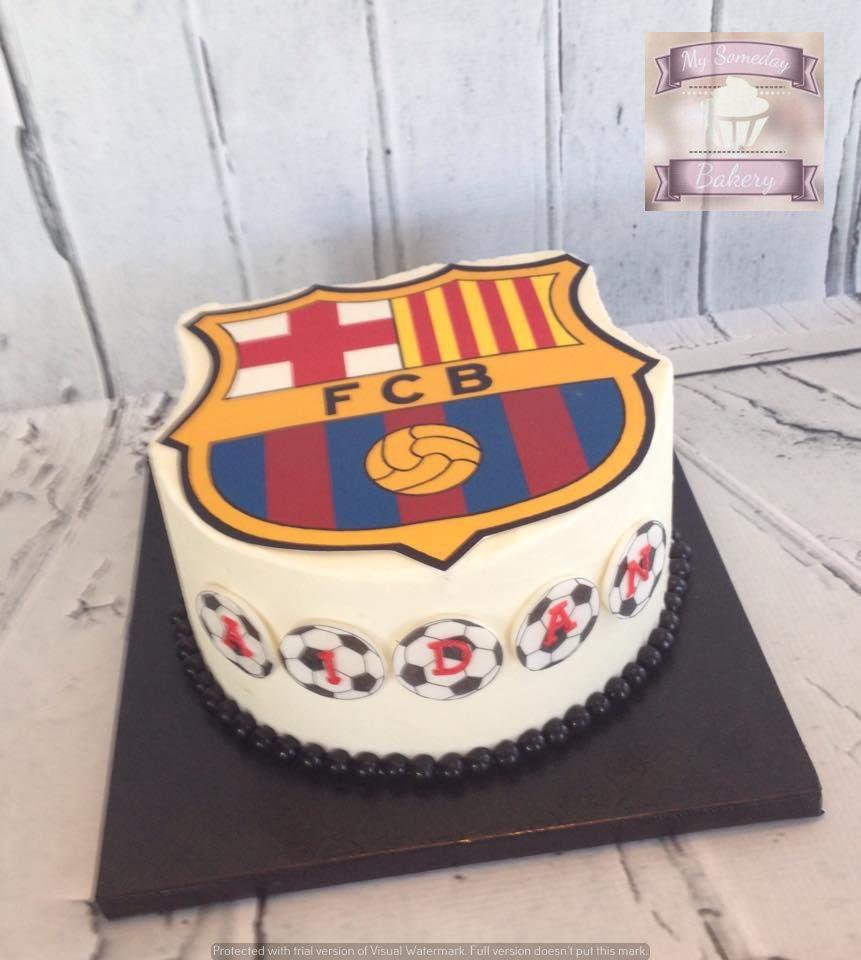Fc Barcelona Themed Cake Cakes Barcelona Cake Cake