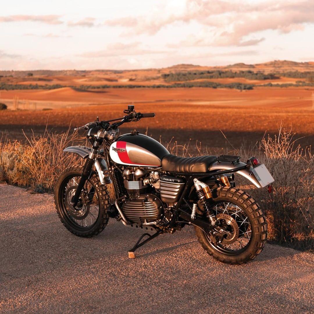 By Tamaritmotorcycles Motorcycles Motorbike Triumph Scrambler Caferacer Bike Triumph Scrambler Triumph Bonneville Triumph Motorcycles