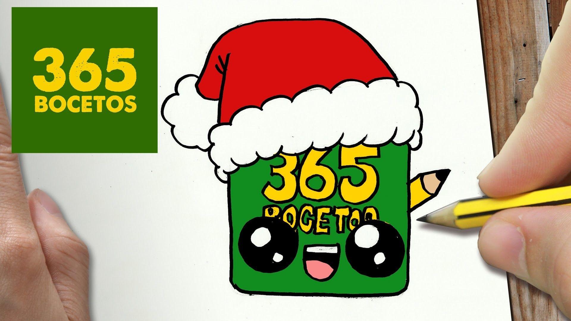 Como Dibujar Un 365bocetos Para Navidad Paso A Paso Dibujos