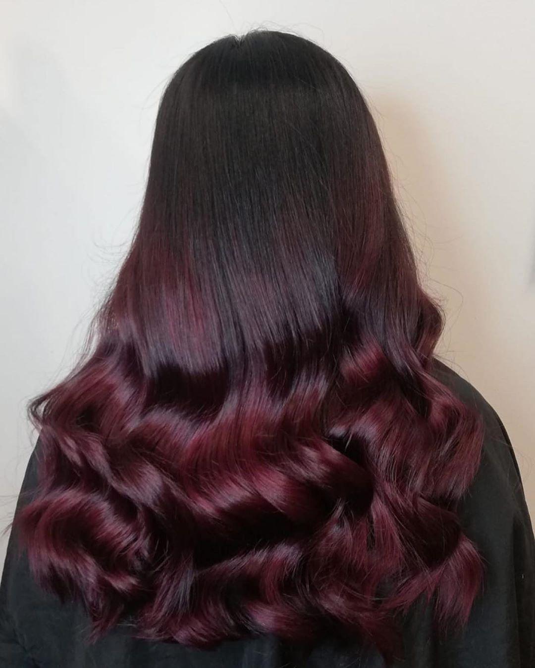 Raspberry Chocolate Waves