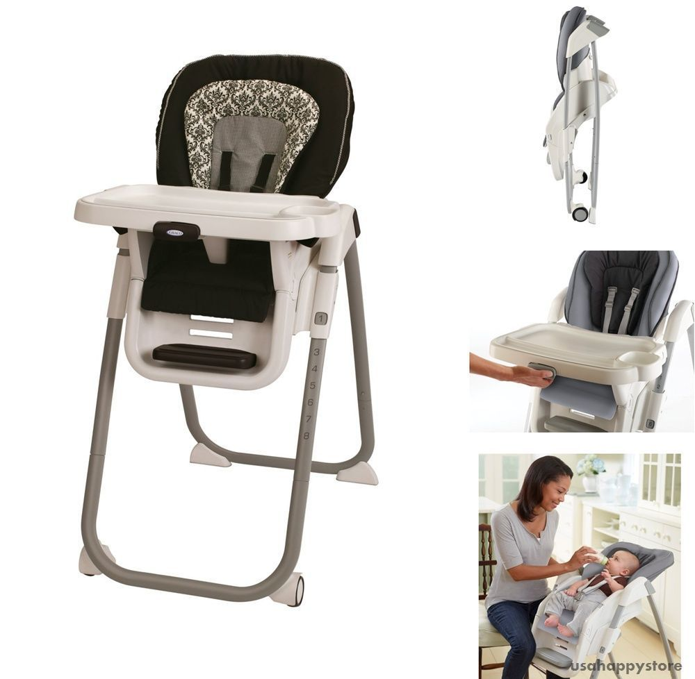 Graco Baby High Chair Seat Feeding Folding Convertible Removable
