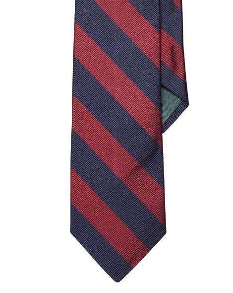 Pocket squares · Striped Silk Repp Tie - Polo Ralph Lauren Ties -  RalphLauren.com