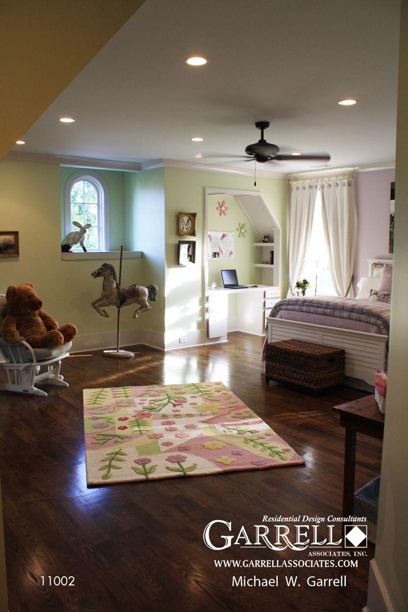 4 room master bedroom design  Garrell Associates IncNashville Manor House Plan