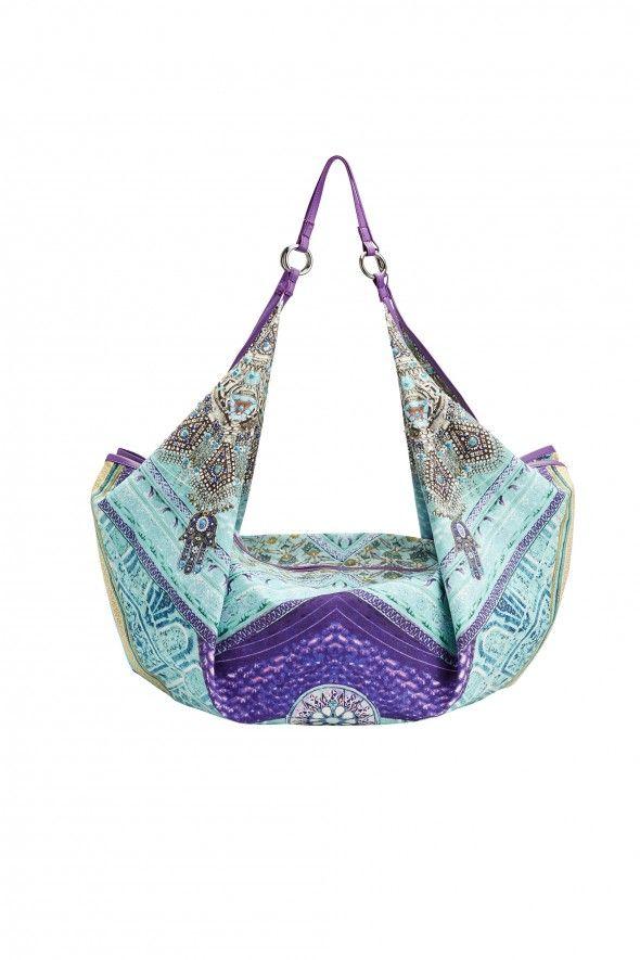 CAMILLA FRANKS Ottoman Sky Beach Bag   BOHO Luxe   Pinterest ...