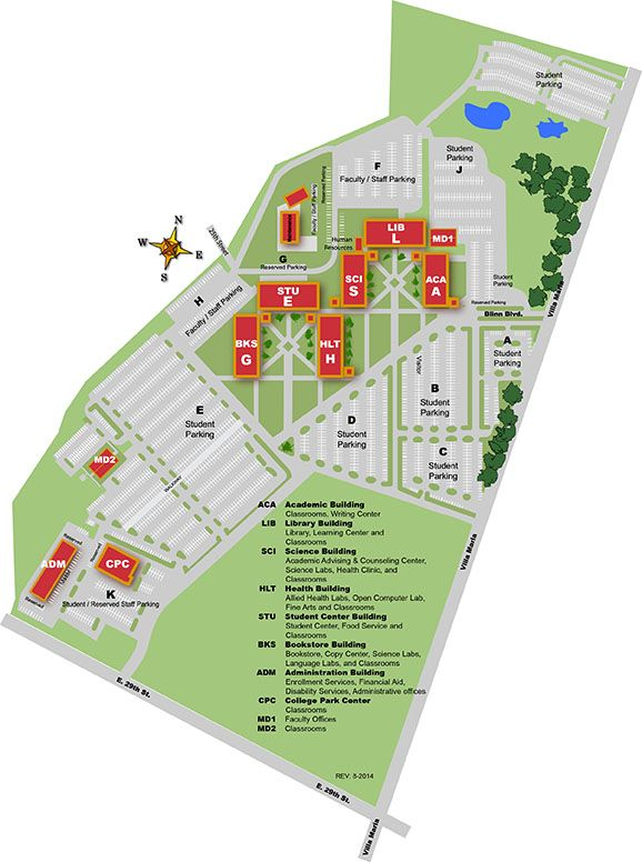 Blinn Bryan Campus Map Blinn Campus Map College