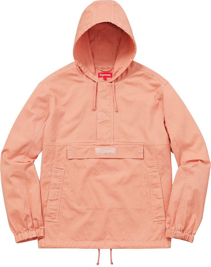 b7b2b402 Supreme Contrast Stitch Twill Pullover | want. in 2019 | Fashion ...