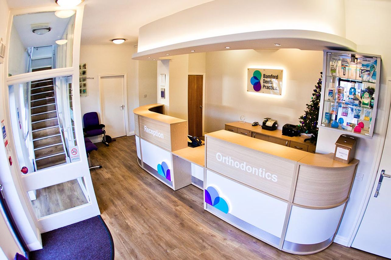 Bespoke Dental Reception Desk