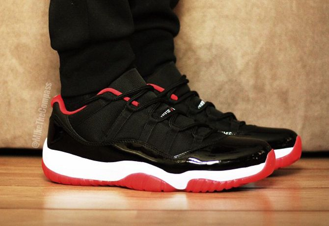 air jordan 11 low bred news today