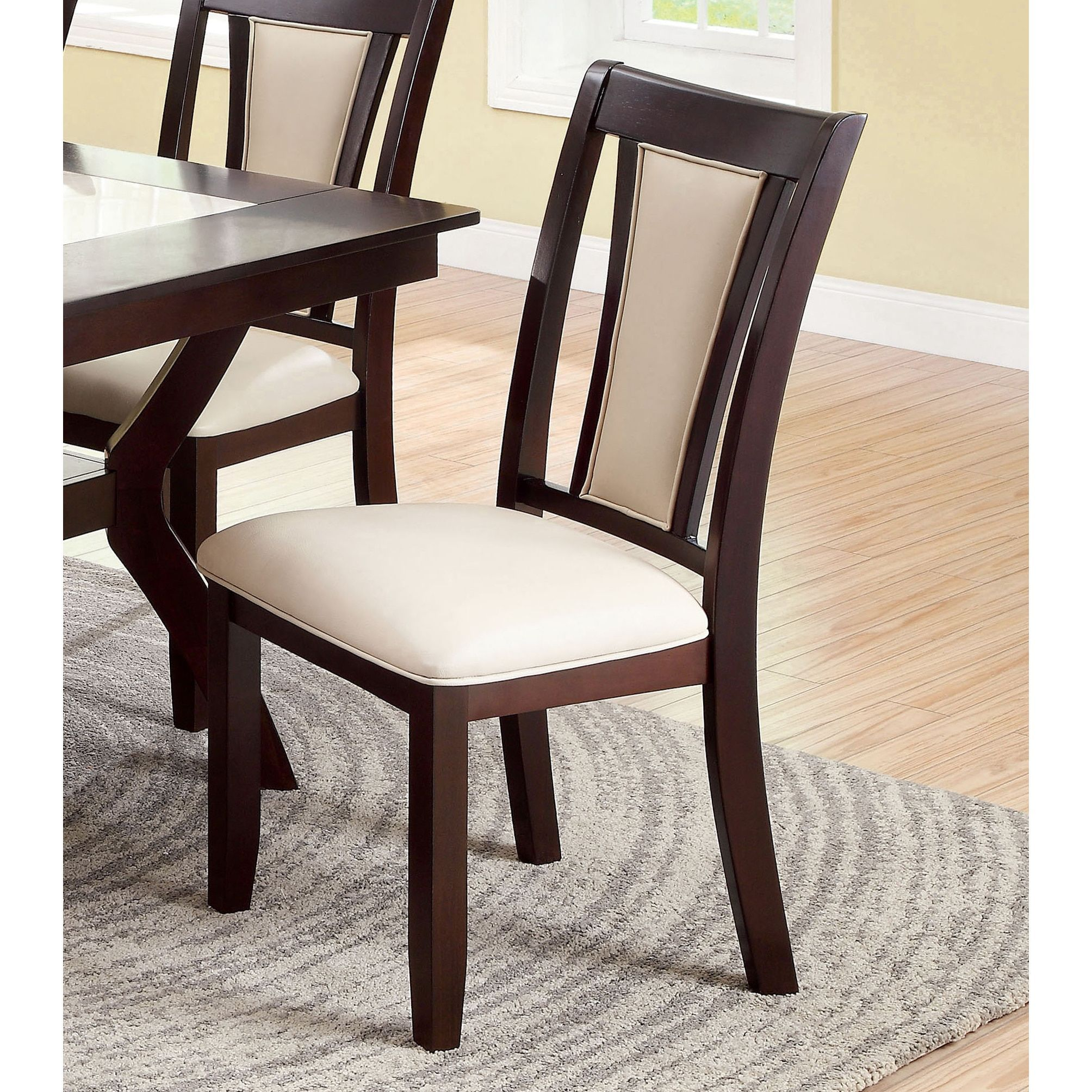 Copper Grove Altmar Dark Cherry Dining Chair Set Of 2 Cherry