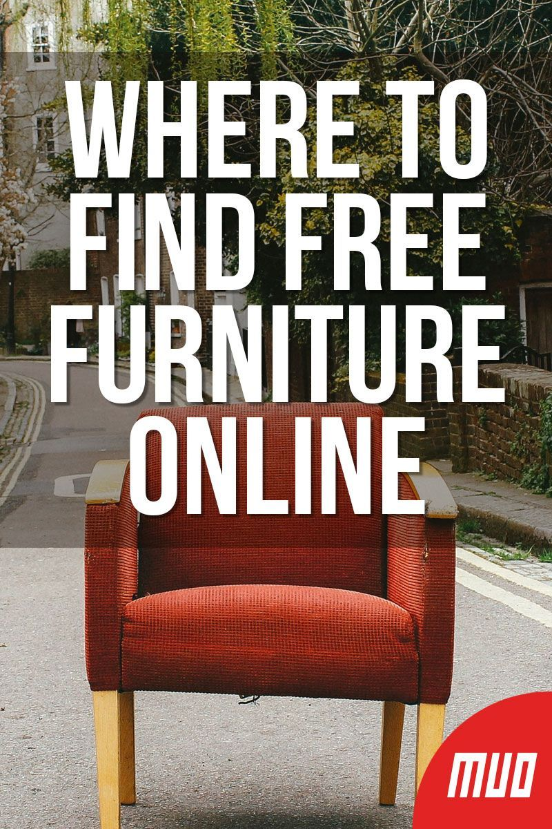 Where To Find Free Furniture Online The 4 Best Sites Free Furniture Buying Furniture Furniture