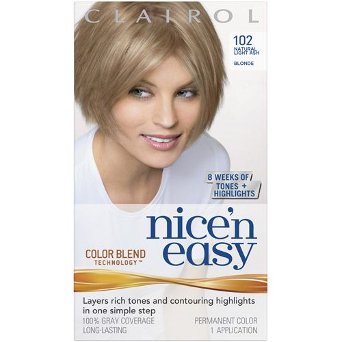 Beauty Nice N Easy Hair Color Light Ash Blonde Hair Color