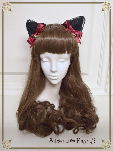 Black Cat in Love Moonlit Night meow meow kitten ears