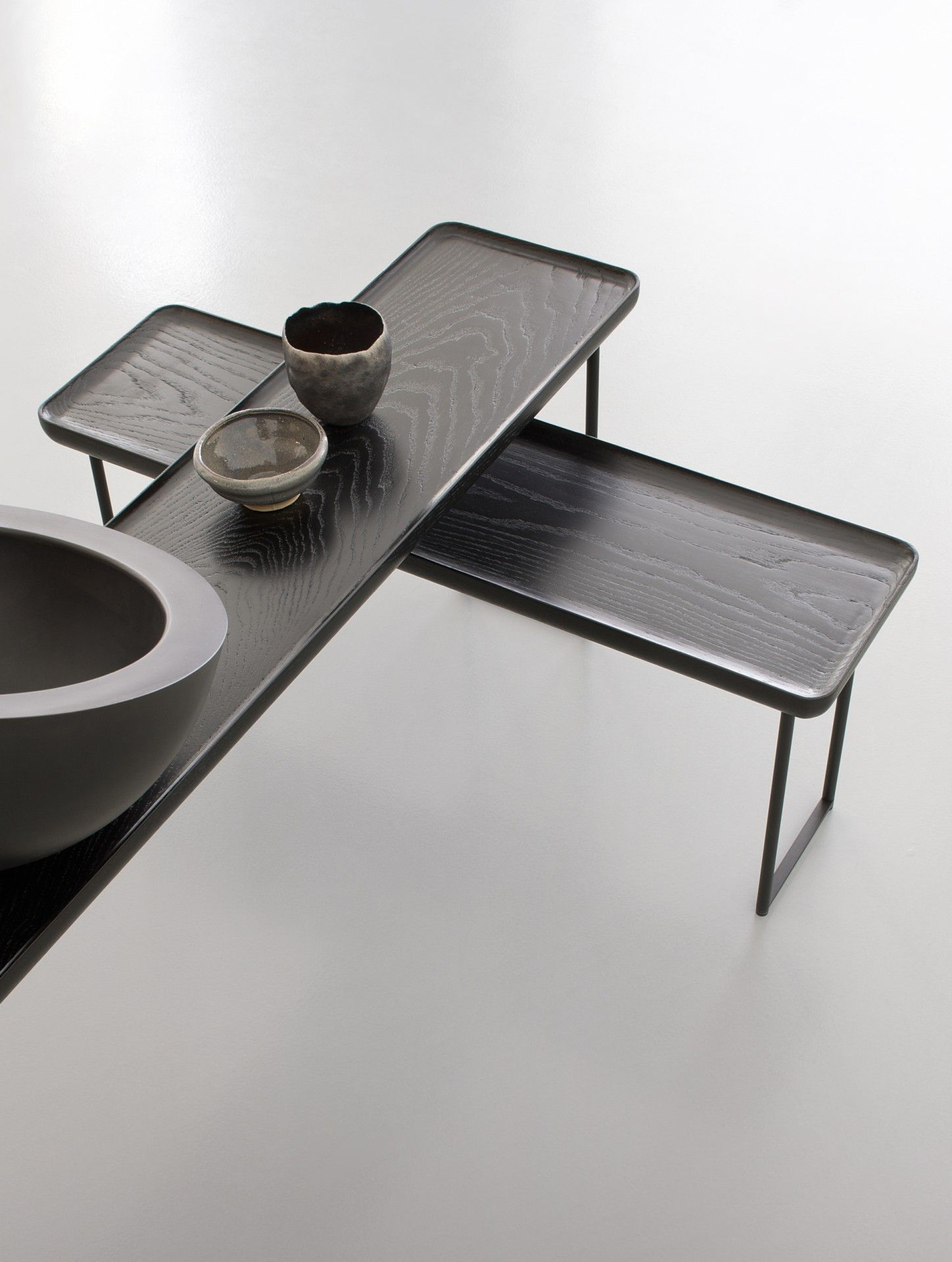 Nichetto Studio Torei Family Furniture Side Tables Japanese Coffee Table Table Furniture [ 1920 x 1448 Pixel ]