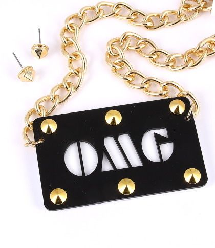 Image of OMG Necklace