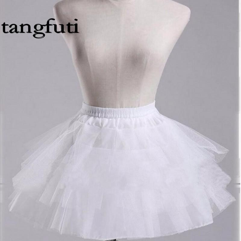 White Petticoat Three layers underskirt Costume Petticoat Underskirt Rockabilly