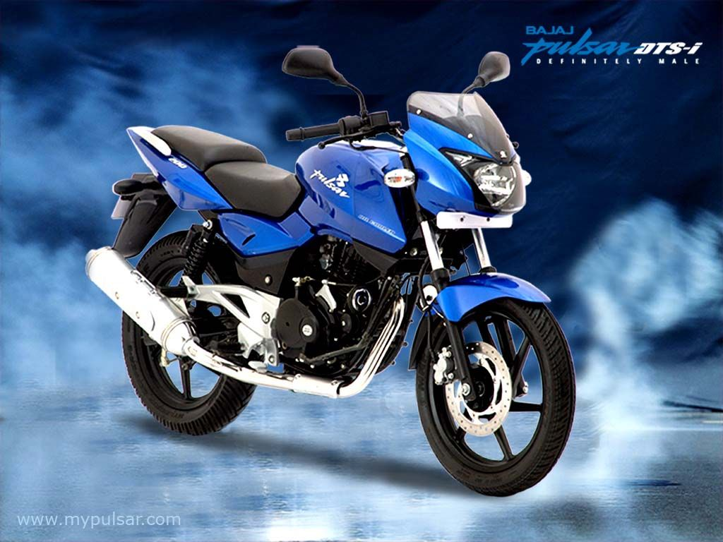 blue bajaj pulsar wallpapers.free download desktop background. bajaj