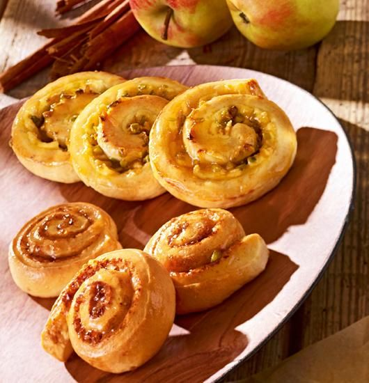 Quark-Pudding- und Zimtschnecken Rezept | Dr.Oetker