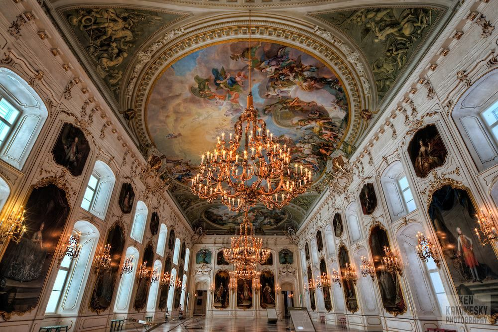 The Hofburg, Imperial Palace in Innsbruck, Austria | Imperial palace,  Innsbruck, Baroque architecture