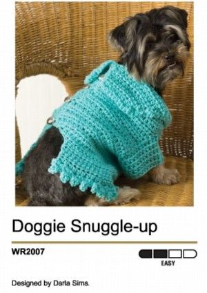 Free Crochet Pattern 80934ad Flower Garden Dog Sweater Lion