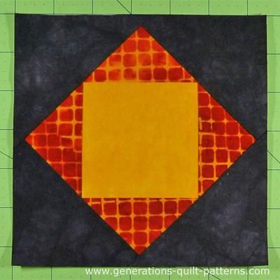 Economy Quilt Block 40 Finished Paper Piecing Pattern Quilt Custom Generations Quilt Patterns