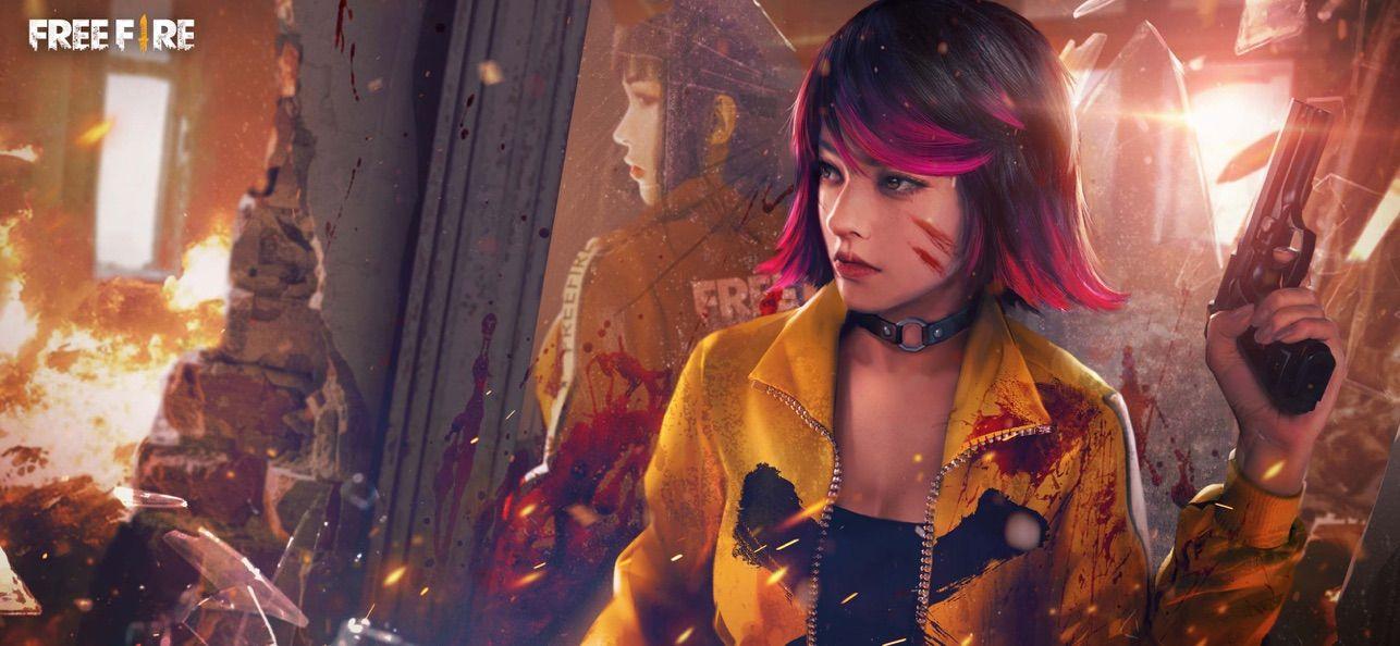 Garena Free Fire Wonderland On The App Store Fire Art Digital Art Girl Warrior 3