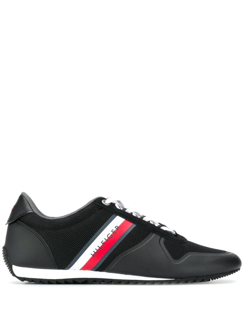 Tommy Hilfiger Panelled Sneakers Black Tommy Hilfiger Sneakers Sneakers Black Tommy Hilfiger