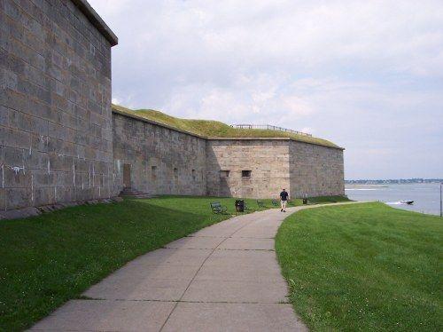 castle island in boston.