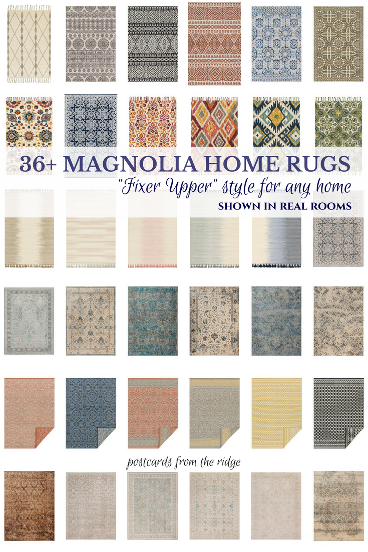 30 stunning rugs you 39 ll love from magnolia home joanna for Farmhouse style kitchen rugs