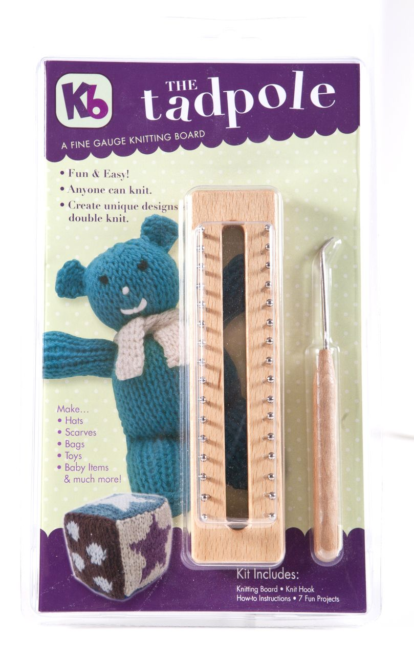 """6"""" Tadpole knitting board, Authentic Knitting Board and ..."""