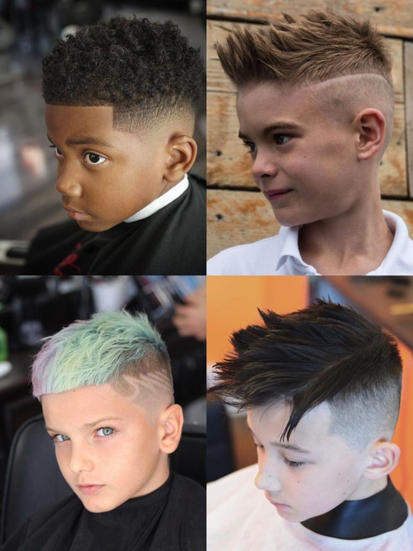 Fashion style Boys Trendy hair cut as u like for lady