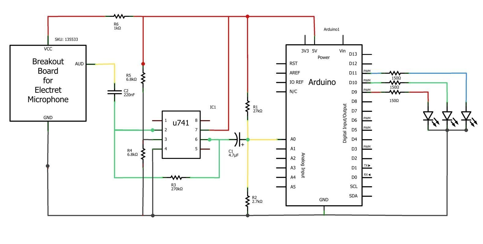 Esquema del organo de luces con Arduino | gustavoserrano | Pinterest ...