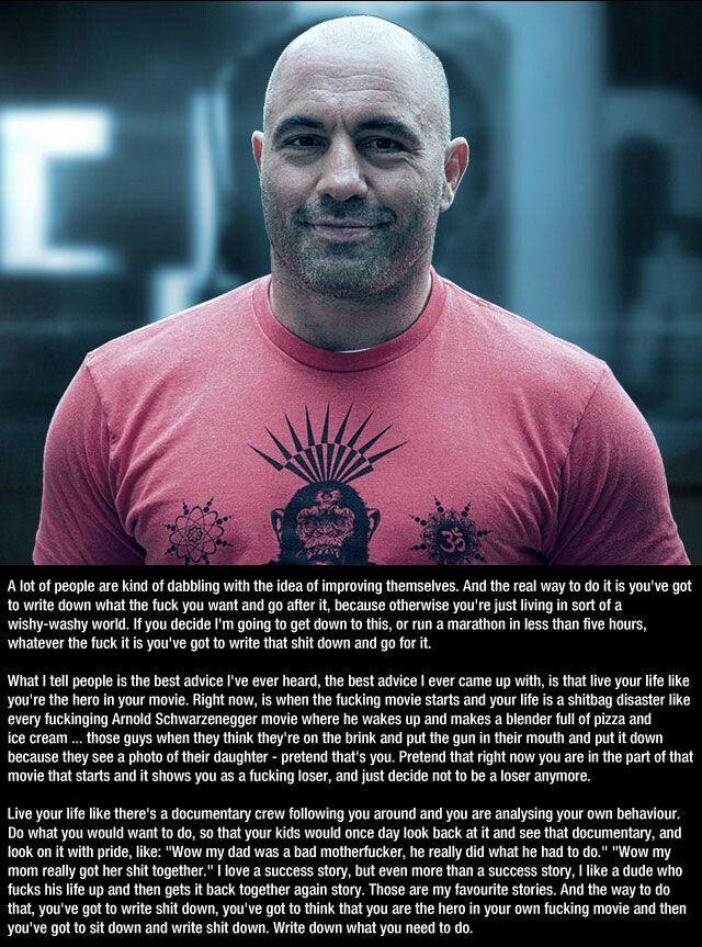 Powerful Joe Rogan Joe Rogan Quotes Motivation Life Quotes
