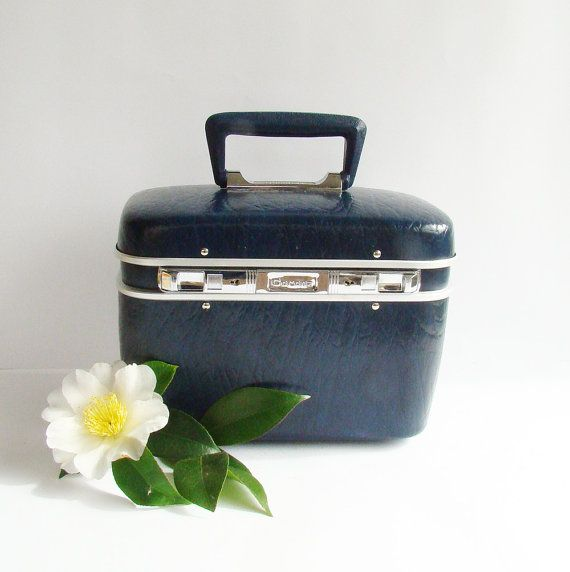 1960s 70s Retro Vanity Case Make Up Storage By Abouttheplace