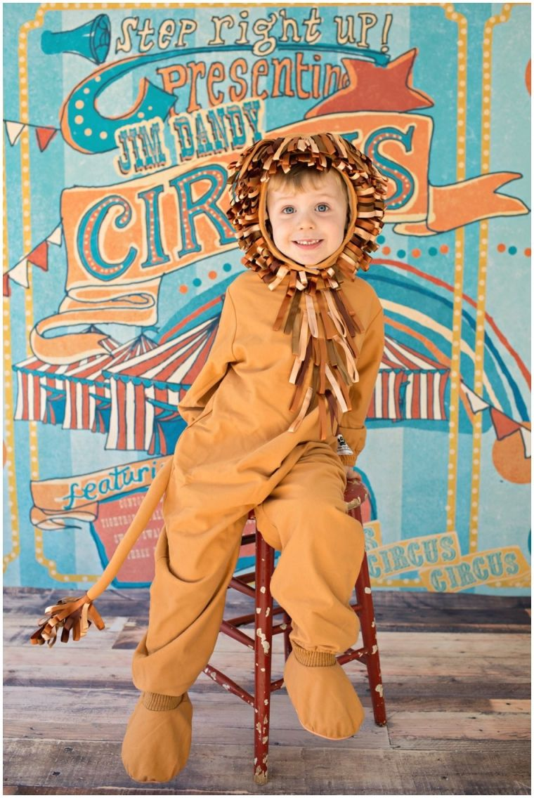 toddler lion costume happy halloween 2013 | missy b photography