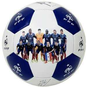 5fbc0c406f379 Collection officielle Equipe de FRANCE de football. Ballon de football FFF,  avec signatures des joueurs. Taille 5 (standard).