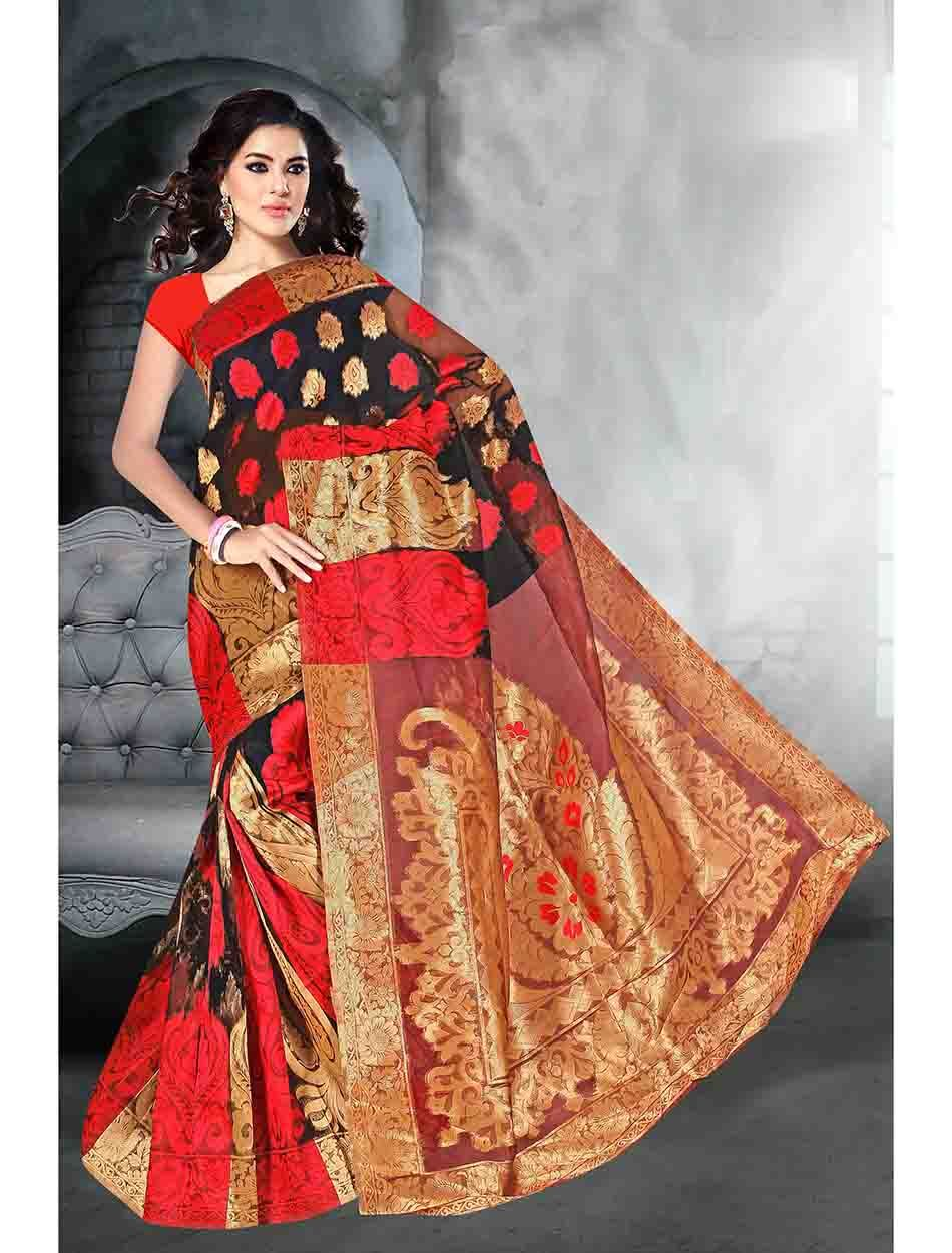 THANKAR MULTY KORA SILK DESIGNER SAREE