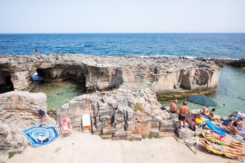 Piscina Naturale  Tricase Marina Serra  Giro di Puglia  Puglia  Salento Southern italy
