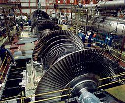 La Turbine à Vapeur De Mhi Pour La Centrale Nucléaire Mitsubishi Heavy Industries Steam Turbine Power Plant
