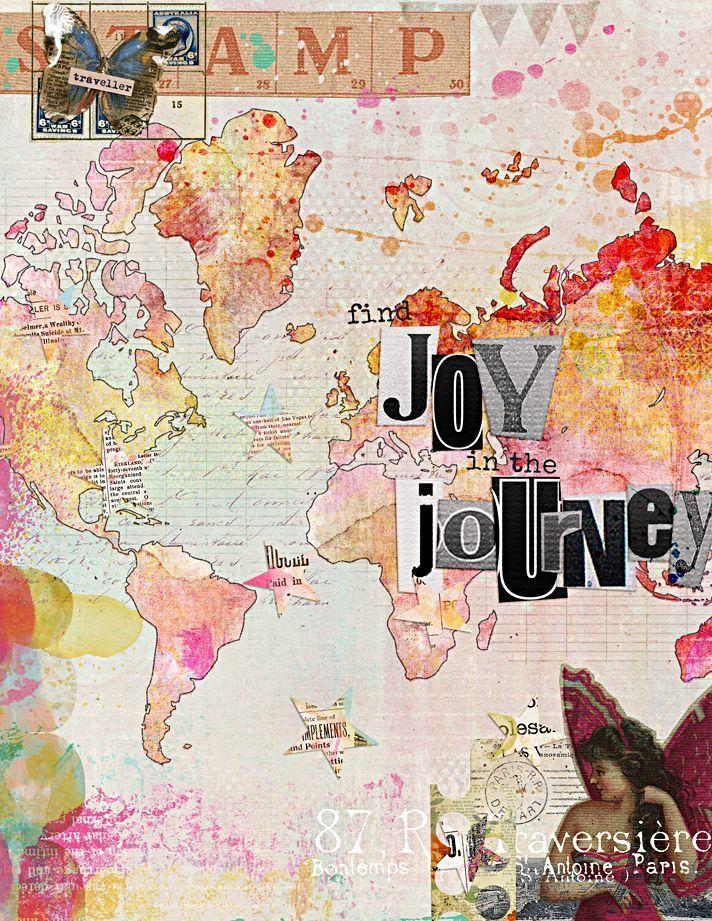 Collage art journaling #artjournalmixedmediainspiration