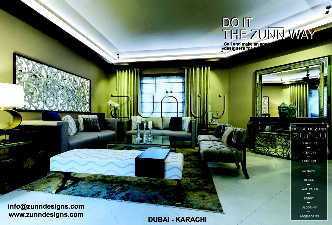 House Of Zunn Time To Convert Your Into A Home Leave Designing Needs The Experts Reach Us At 4 346 7366 For Dubai And Karachi Get