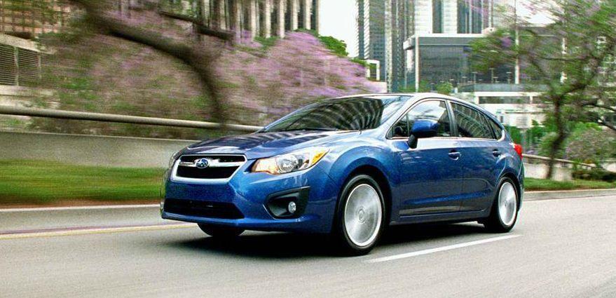 The 2013 Subaru Impreza is a standard all wheel drive with good gas