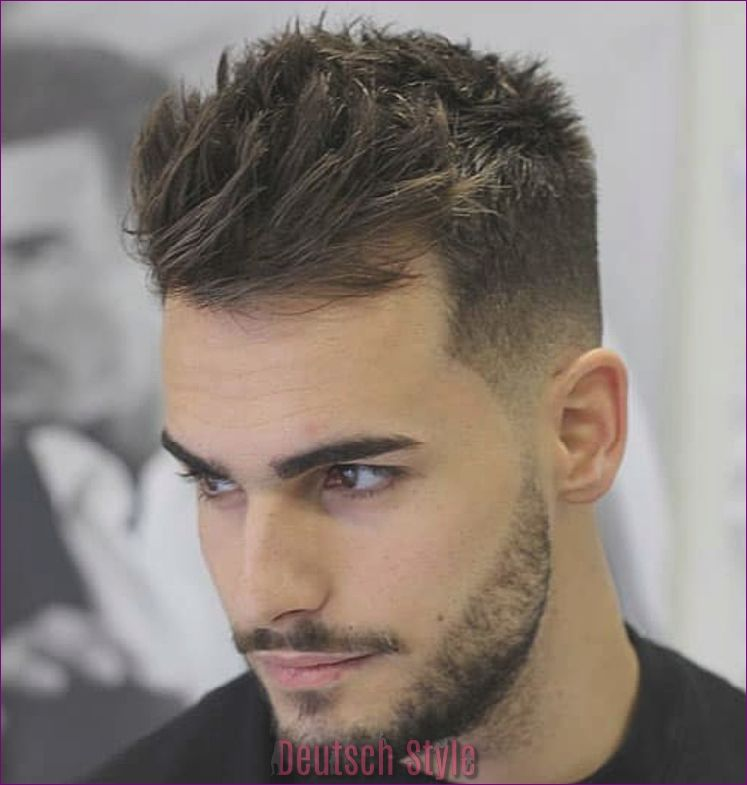 Stylische Herrenfrisuren Trends Fur 2019 Deutsch Style Herrenfrisuren Haar Styling Manner Frisur Kurz