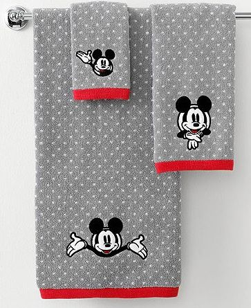 mickey mouse bath towels | disney world secrets | pinterest