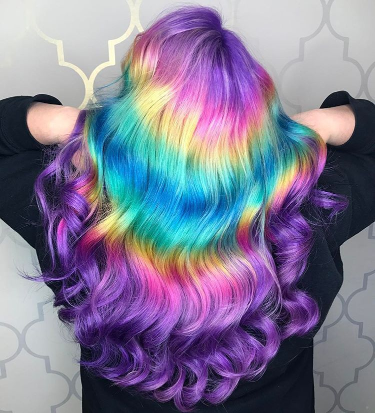 Shine Line Hair Is The New Colorful Instagram Trend You Need To Know About Hair Patterns Wedding Hair Colors Hair Color Unique