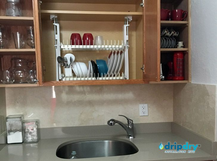 Gallery of the Cabinet Dish Rack   The Drip Dry
