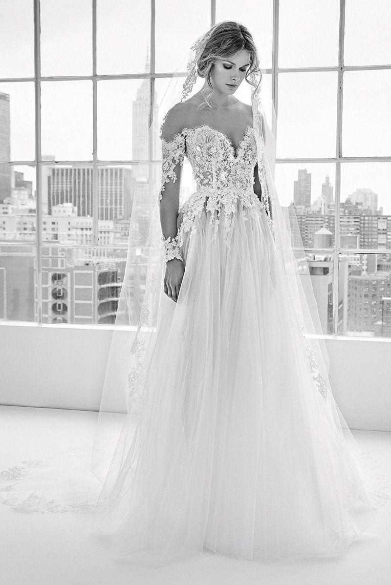829471752839 Dory embroidered gown from Zuhair Murad Bridal's spring-summer 2018  collection
